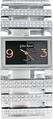 Zegarek Gino Rossi GINO ROSSI - 5626B (zg534a) black/silver uniwersalny