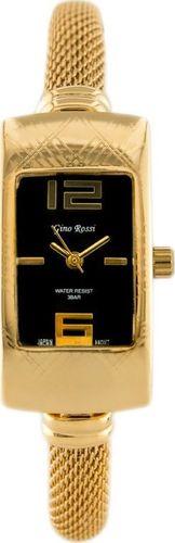 Zegarek Gino Rossi GINO ROSSI - SENSOUS (zg529d) gold/black uniwersalny