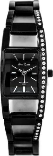 Zegarek Gino Rossi GINO ROSSI - 6387B (zg528a) black uniwersalny