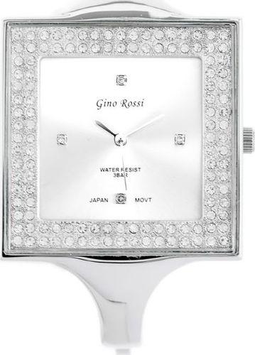 Zegarek Gino Rossi GINO ROSSI - 6392B (zg519b) silver uniwersalny