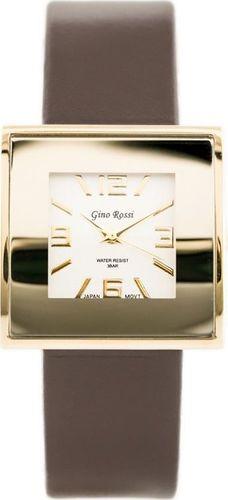 Zegarek Gino Rossi GINO ROSSI - KWADRATTO (zg515i) uniwersalny