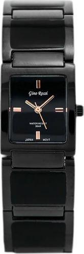 Zegarek Gino Rossi GINO ROSSI - 6598B (zg540b) graphite/rose gold uniwersalny