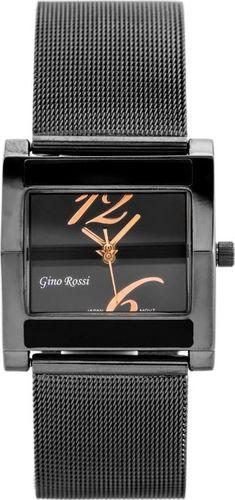 Zegarek Gino Rossi GINO ROSSI - MIRIAM (zg542f) graphite/rose gold uniwersalny