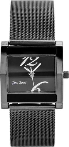 Zegarek Gino Rossi GINO ROSSI - MIRIAM (zg542e) graphite/silver uniwersalny