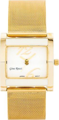 Zegarek Gino Rossi GINO ROSSI - MIRIAM (zg542a) gold/white uniwersalny