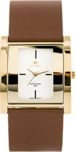 Zegarek Gino Rossi GINO ROSSI - DAFNE (zg576e) brown/gold uniwersalny