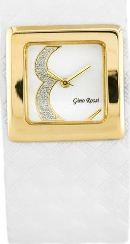 Zegarek Gino Rossi GINO ROSSI - ALBE (zg645c) white uniwersalny