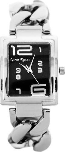 Zegarek Gino Rossi GINO ROSSI - 6949B (zg507c) silver/graphite uniwersalny