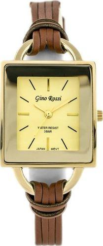 Zegarek Gino Rossi Gino Rossi - PRADO (zg603h) - gold/brown uniwersalny