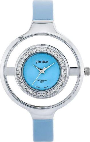 Zegarek Gino Rossi GINO ROSSI - DOORE (zg656f) light blue/silver uniwersalny