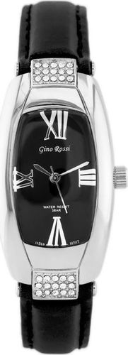 Zegarek Gino Rossi GINO ROSSI - 9226A (zg560b) black/silver/black uniwersalny