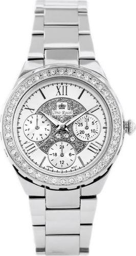 Zegarek Gino Rossi GINO ROSSI - ALORE (zg646a) silver uniwersalny