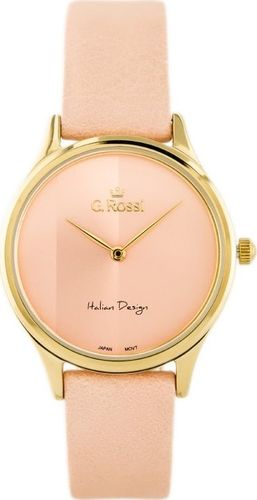Zegarek Gino Rossi GINO ROSSI - 11765 (zg768f) pink/gold uniwersalny