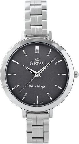 Zegarek Gino Rossi Zegarek GINO ROSSI 11389B-1C1 (zg787b) s./graphite uniwersalny