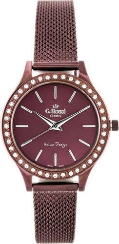 Zegarek Gino Rossi Zegarek GINO ROSSI - C10482B2-2B1 (zg776d) violet uniwersalny