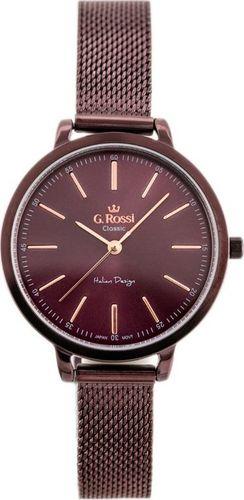 Zegarek Gino Rossi Zegarek GINO ROSSI - C11760B-2B3 (zg778d) violet uniwersalny