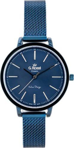 Zegarek Gino Rossi Zegarek GINO ROSSI - C11760B-6F1 (zg778e) blue uniwersalny