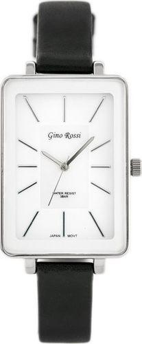 Zegarek Gino Rossi GINO ROSSI - COLIN (zg535b) white/silver/black uniwersalny