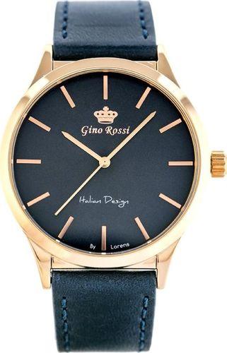 Zegarek Gino Rossi ZEGAREK MĘSKI GINO ROSSI 10856A - (zg293d) uniwersalny