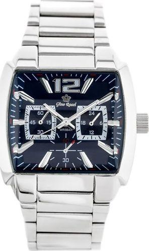 Zegarek Gino Rossi GINO ROSSI - 5786B (zg023a) navy blue/silver uniwersalny