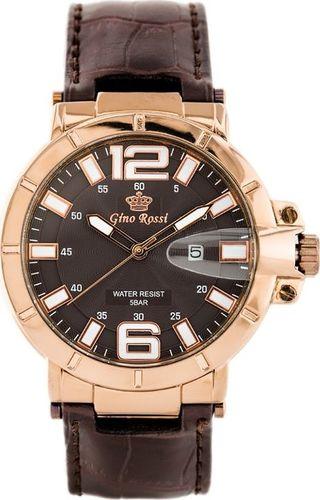 Zegarek Gino Rossi GINO ROSSI - ONYX (zg154g) uniwersalny