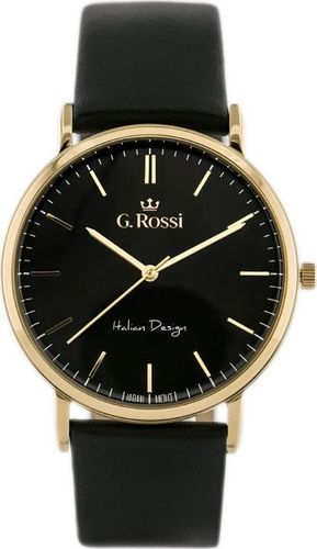 Zegarek Gino Rossi Czarny 10768A (zg189e)