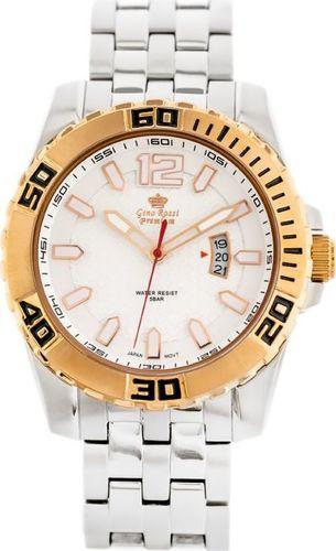 Zegarek Gino Rossi GINO ROSSI S123B - PREMIUM (zg008c) uniwersalny