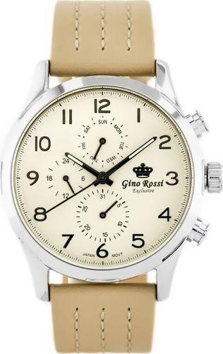 Zegarek Gino Rossi GINO ROSSI - E-11088A - EXCLUSIVE (zg241a) uniwersalny