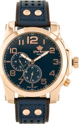 Zegarek Gino Rossi GINO ROSSI - E11642A - EXCLUSIVE (zg242e) uniwersalny