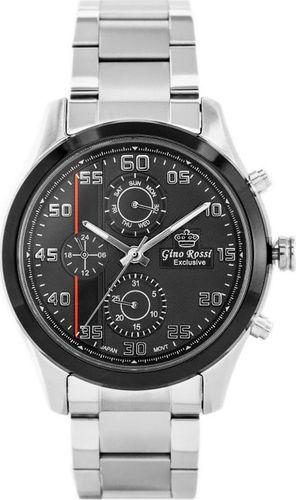 Zegarek Gino Rossi GINO ROSSI - E11648B - EXCLUSIVE (zg246b) uniwersalny