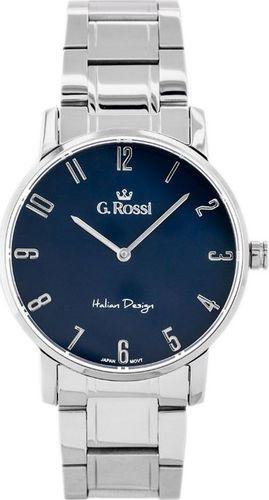 Zegarek Gino Rossi Zegarek GINO ROSSI 10194B-6C1 (zg257c) s./blue uniwersalny