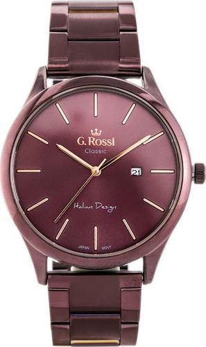 Zegarek Gino Rossi Zegarek GINO ROSSI C1273B-2B3 (zg255d) violet uniwersalny