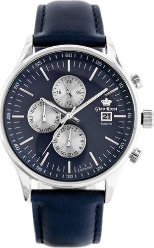 Zegarek Gino Rossi ZEGAREK MĘSKI GINO ROSSI E10775A - EXCLUSIVE(zg294b) uniwersalny