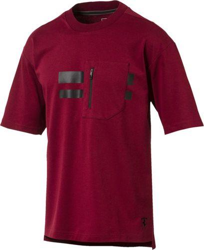 Puma Koszulka męska Ferrari Life Tee bordowa r. XL (576679 06)