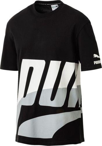 Puma Koszulka męska Loud Pack Tee czarna r. S (577358 01)