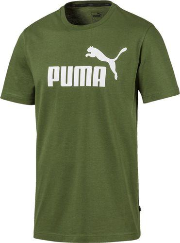 Puma Koszulka męska ESS Logo Tee zielona r. L (853400 33)