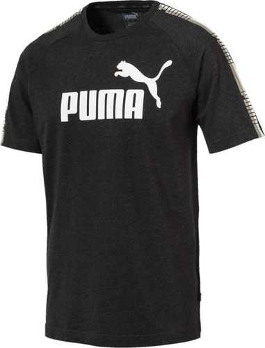 Puma Koszulka męska Tape Logo Tee czarna r. M (852589 07)