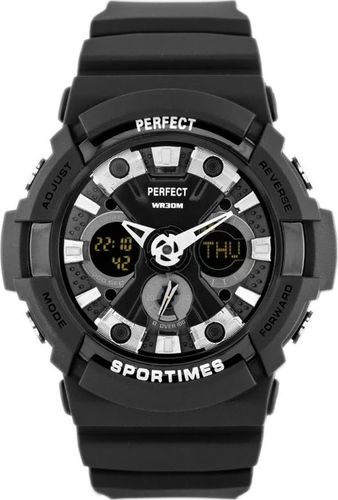 Zegarek Perfect PERFECT SPORTIMES A8002 (zp248b) uniwersalny