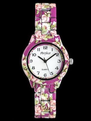 Zegarek Perfect PERFECT A676 - FLOWERS (zp768c) uniwersalny