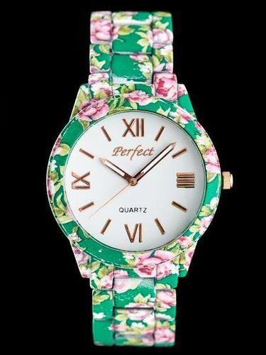 Zegarek Perfect PERFECT A675 - FLOWERS 2 (zp769b) uniwersalny