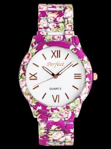 Zegarek Perfect PERFECT A675 - FLOWERS 2 (zp769c) uniwersalny