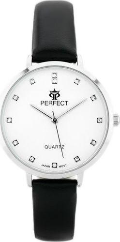 Zegarek Perfect PERFECT B7249 antyalergiczny (zp848a) black/silver uniwersalny