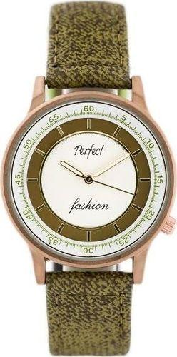 Zegarek Perfect PERFECT A379 - olive (zp826c) uniwersalny