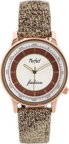 Zegarek Perfect PERFECT A379 - beige/brown (zp826b) uniwersalny