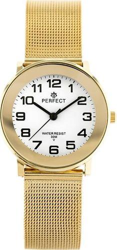 Zegarek Perfect PERFECT F254G (zp876b) gold uniwersalny