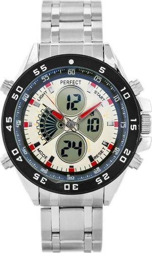Zegarek Perfect PERFECT CAYMAN (zp120e) - white/red uniwersalny