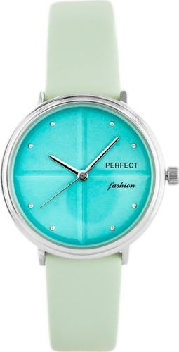 Zegarek Perfect PERFECT A3063 - seledynowy / turkusowy (zp842c) uniwersalny