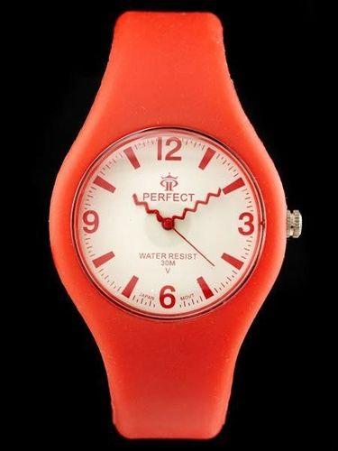 Zegarek Perfect PERFECT - LEILA - red (zp689c) uniwersalny