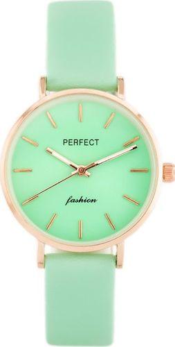 Zegarek Perfect PERFECT A0359 - zielony / rosegold (zp841e) uniwersalny