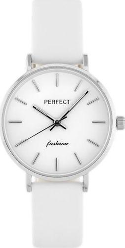 Zegarek Perfect PERFECT A0359 - biały / srebrny (zp841a) uniwersalny